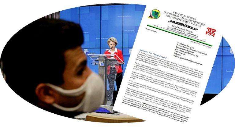 Piszemy do Ursuli von der Leyen – Przewodniczącej Komisji Europejskiej o likwidację opłat CO2 i rewizję Zielonego Ładu