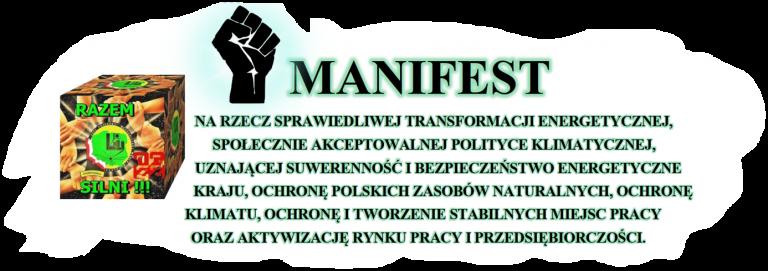 Manifest na rzecz sprawiedliwej transformacji energetycznej