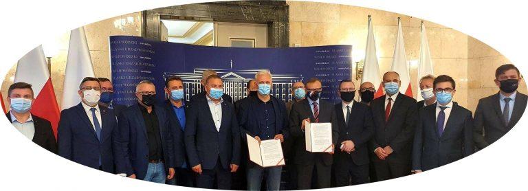 Podpisane porozumienie z rządem w sprawie transformacji górnictwa węgla kamiennego w Polsce z dnia 25 września 2020 r. WRAZ Z ZAŁĄCZNIKIEM NR 1